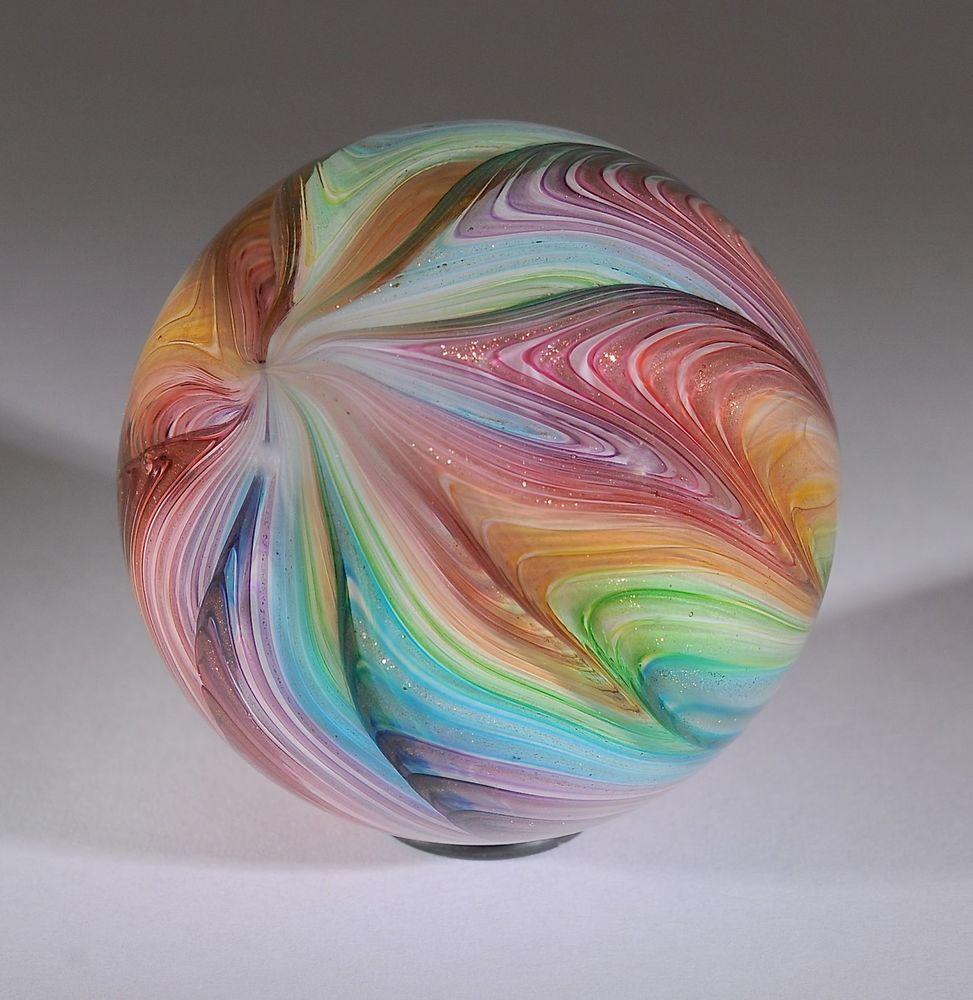 Wald Glass Hand Made Art Marble Northern Beauty Aventurine