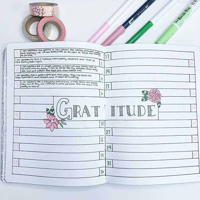5 Must-Have Health and Fitness Bullet Journal Spreads ⋆ The Petite Planner