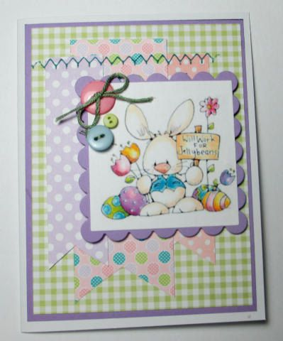 Happy+Easter+Bunny+Loves+YOu+Handmade+Card+by+LoveInBloomCreations,+$2.50