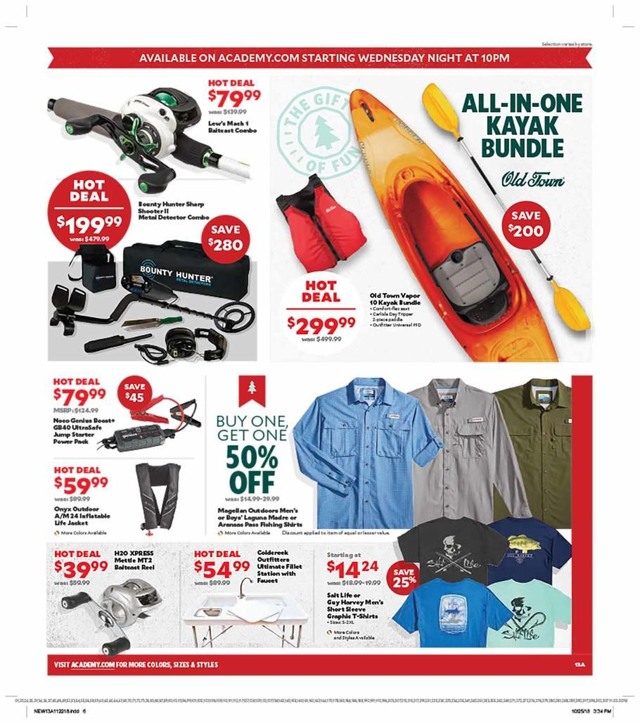 Academy Sports Black Friday 2018 Ads and Deals Black