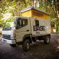 Base 4x4 expedition truck provides a rugged base camp for your greatest adventures