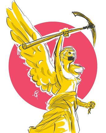 Resultado De Imagen Para Ilustraciones Angel De La Independencia Angel De La Independencia Ilustraciones Disenos De Unas
