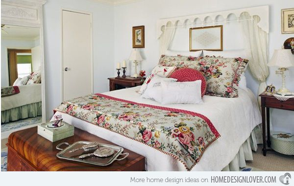 15 Country Cottage Bedroom Decorating Ideas 2 | Country ...