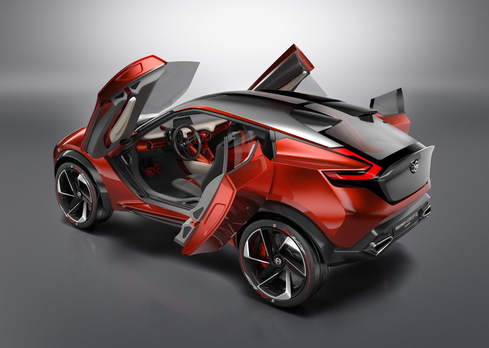 Nissan gripz concept 2015 frankfurt auto show