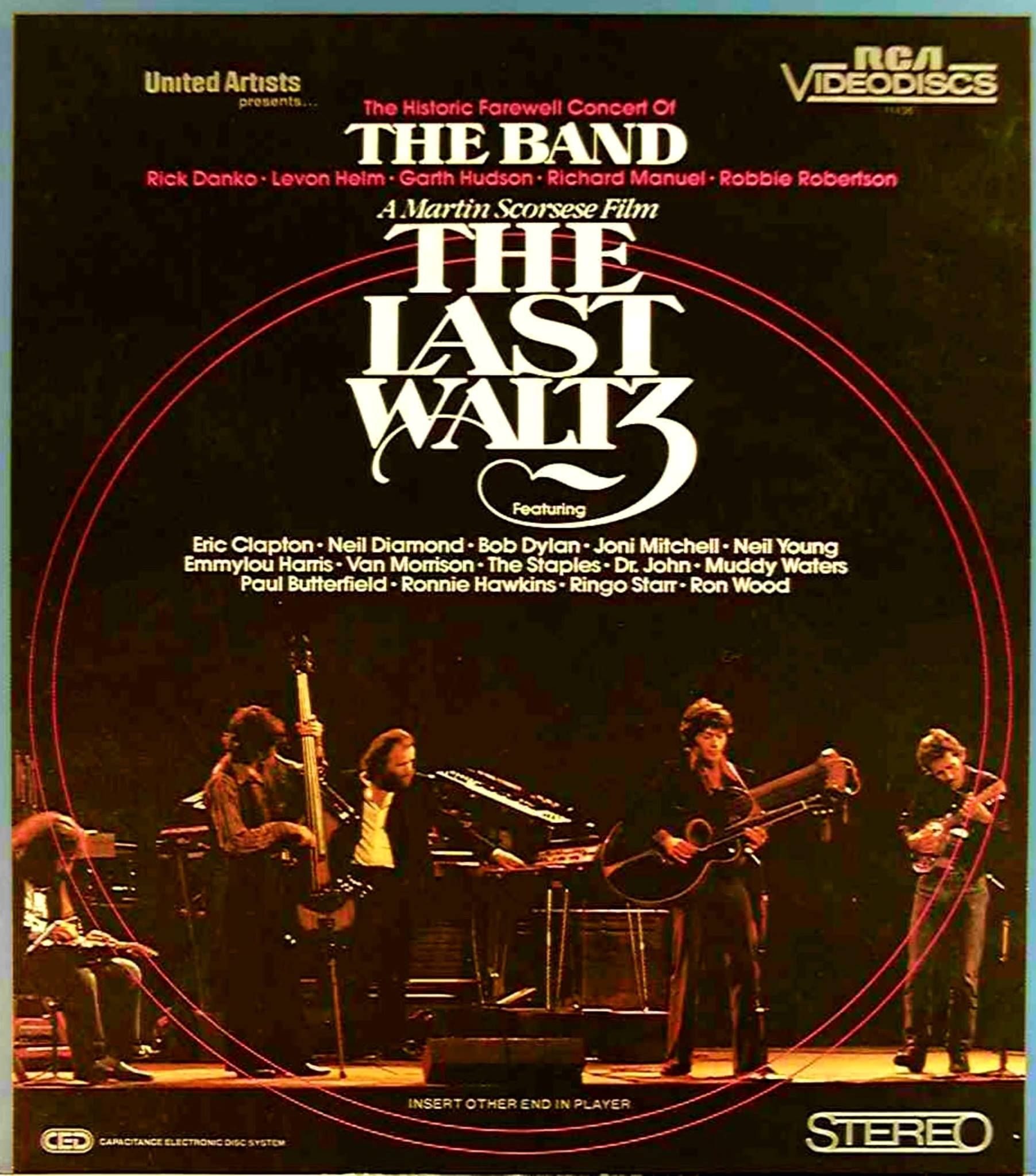 """November 4th, 1977 The Movie """"The Last Waltz"""", Which"""