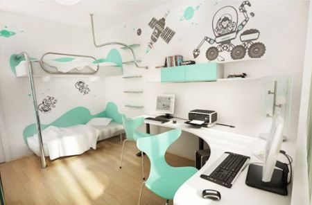 Turquoise Childrens Teens Bedroom Inspirational Turquoise