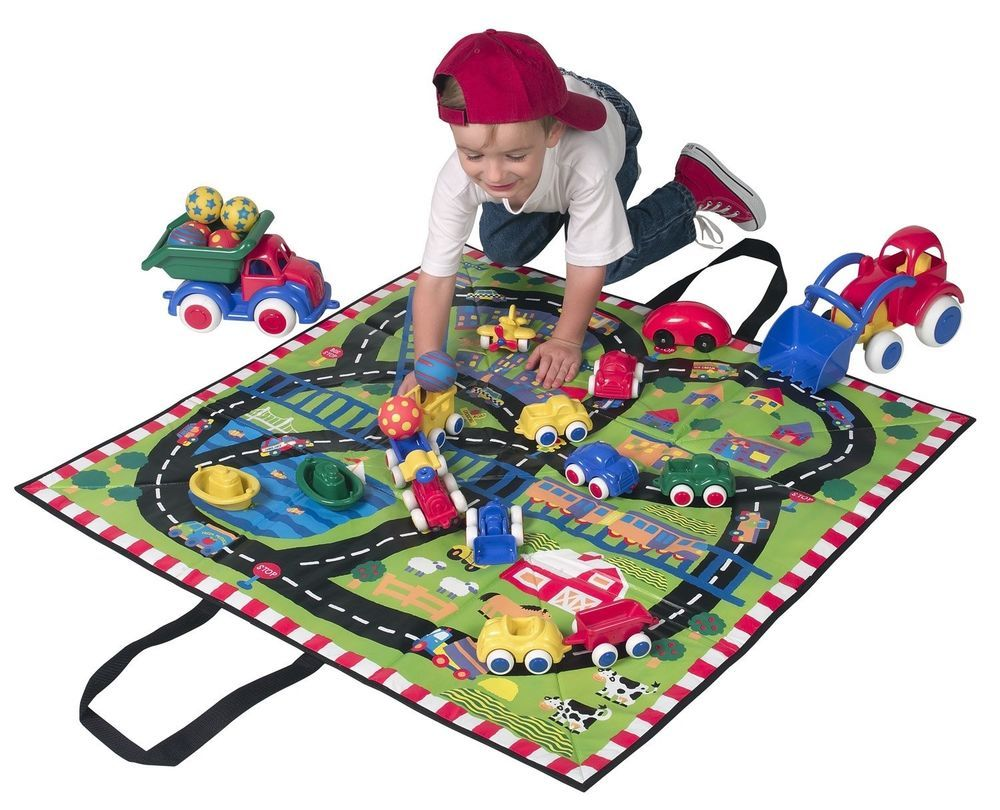 Little car toys  ALEX Toys Little Hands Play Mat Perfect For Little Ones Learning Fun