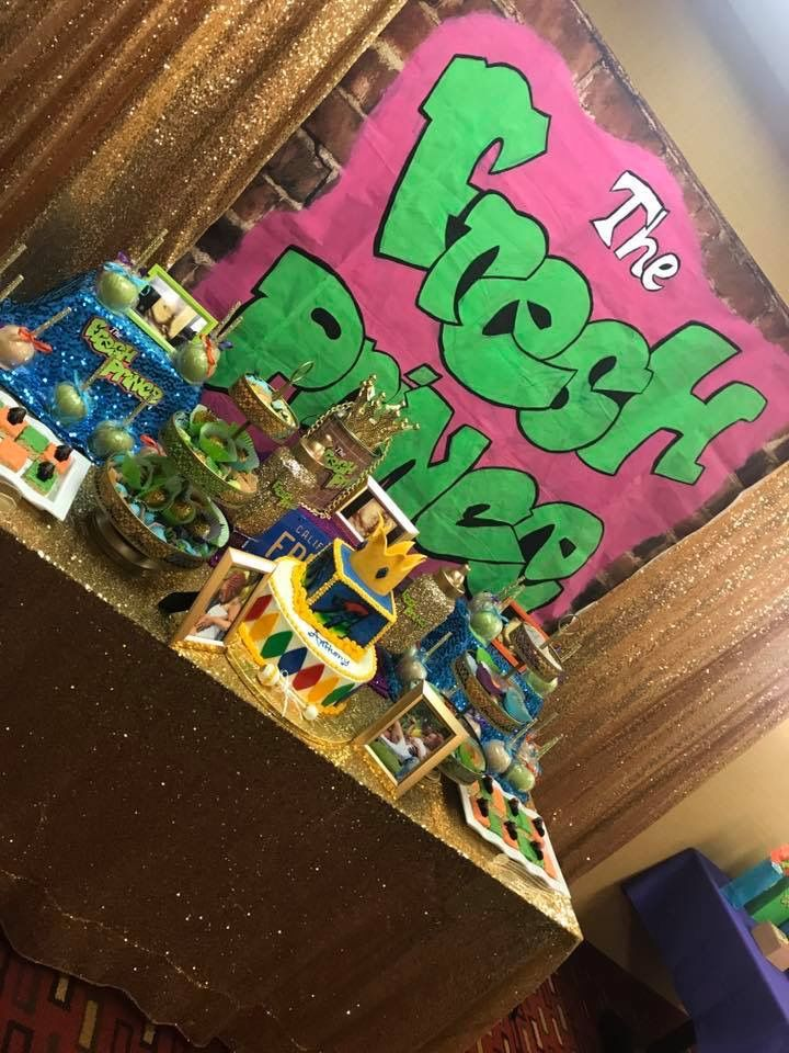 Pin By Tykera Degree On Fresh Prince Baby Shower Prince Birthday