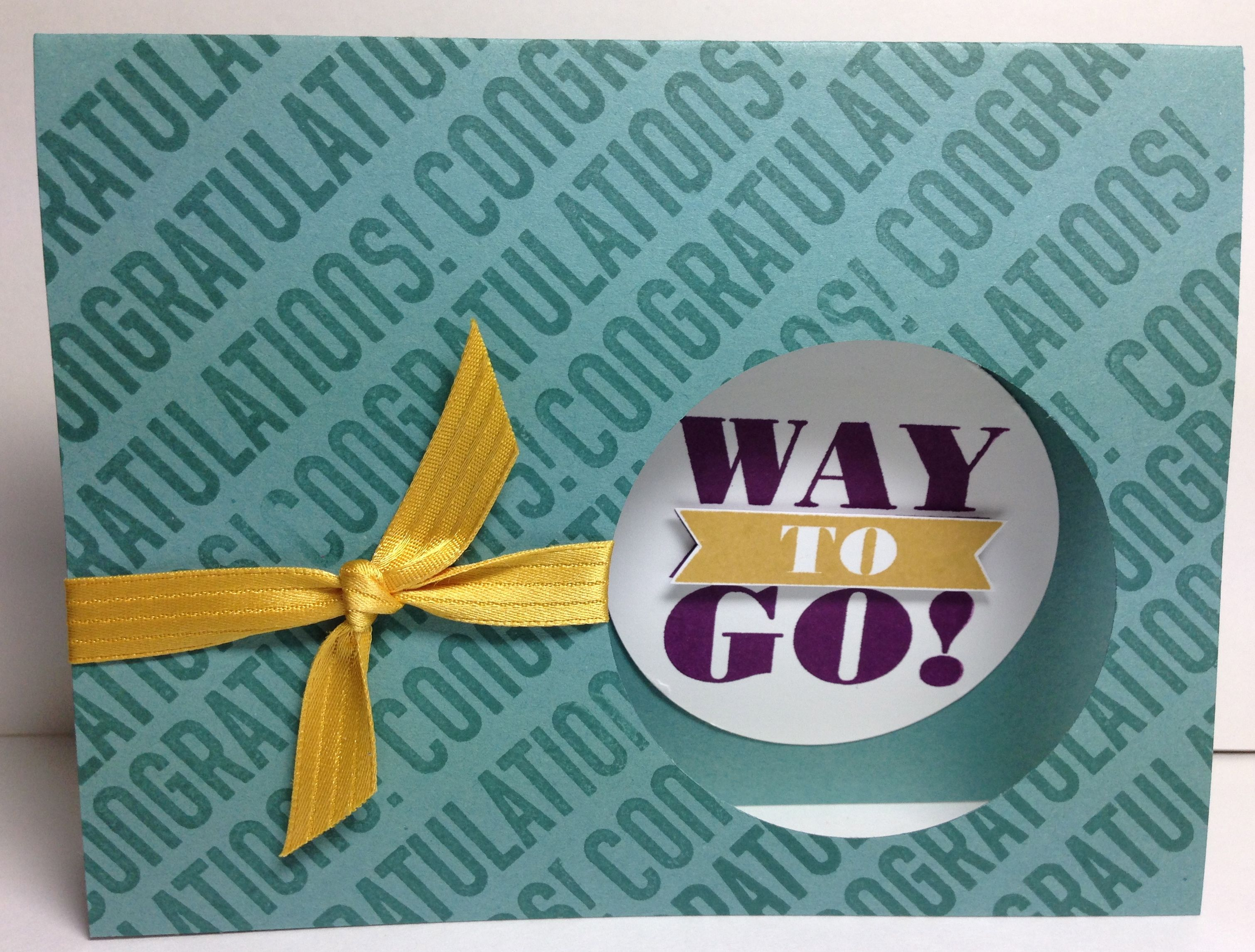 Love making cards using just words this one is with the new stamp