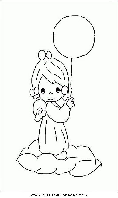 Luftballon 78 In Feste Gratis Malvorlagen Precious Moments Coloring Pages Angel Coloring Pages Cute Coloring Pages