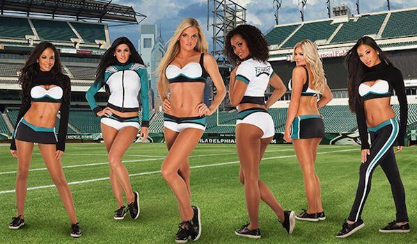 Vera Wang Designs the Philadelphia Eagles Cheerleaders  Uniforms…They re  Kinda Ugly 16d74ea34