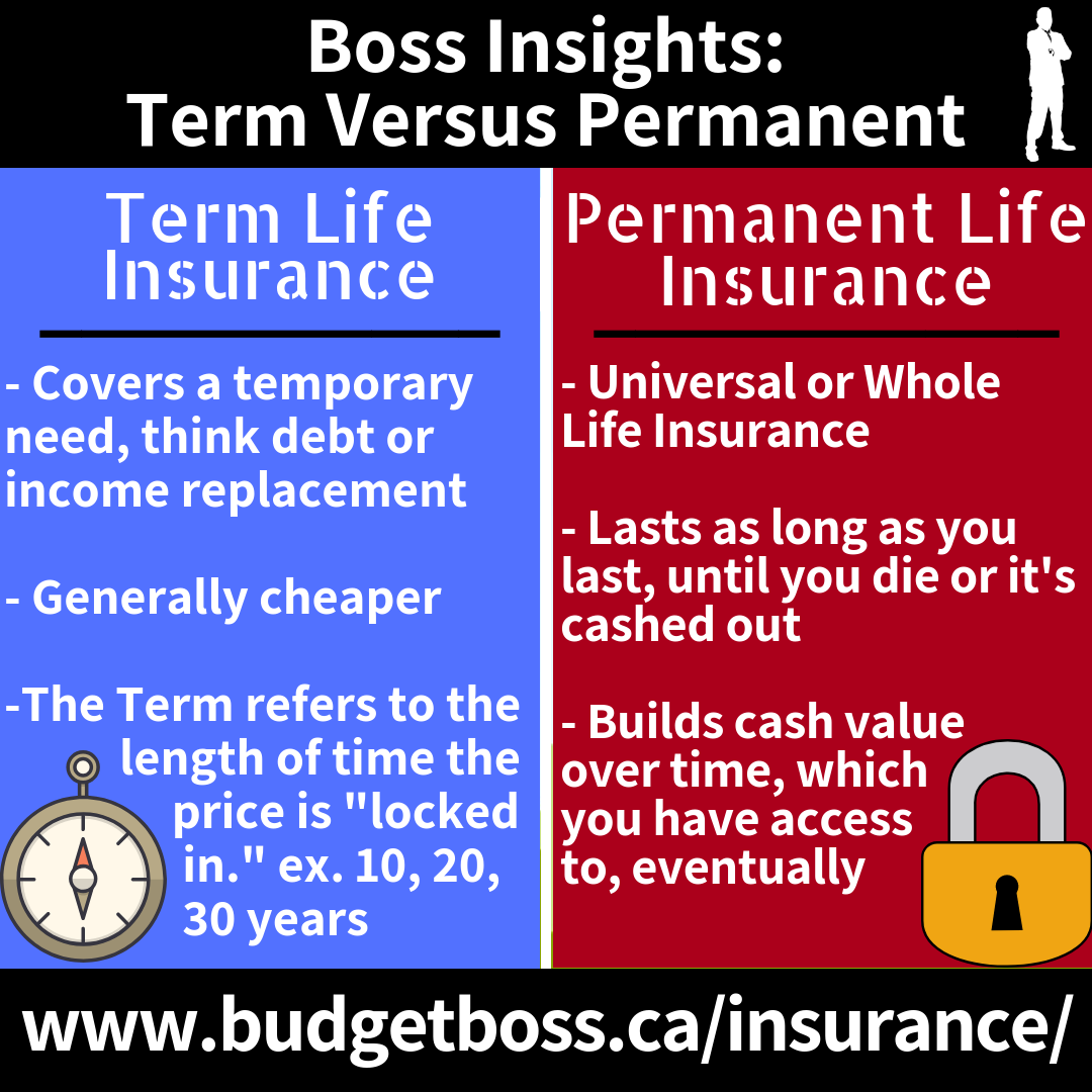 Boss Insights Permanent Life Insurance Life Insurance Policy Term Life
