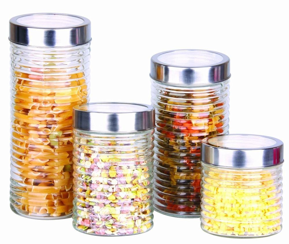 Designer Kitchen Canister Sets Details About Kitchen Dry Food Rice Spaghetti Pasta Storage Snacks