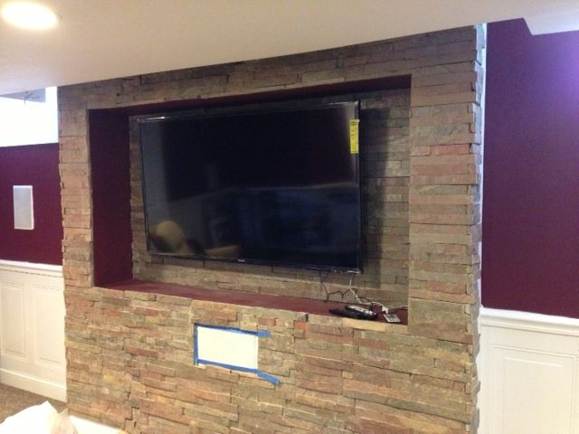 Hervorragend Copper Ledger Stone Accent Wall And Fireplace Surround. Copper Toned Ledger  Stone With Rust Tones