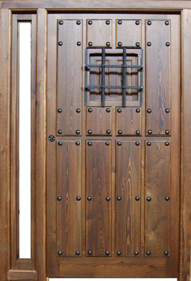 Puertas r sticas exterior buscar con google puertas for Puertas de madera baratas