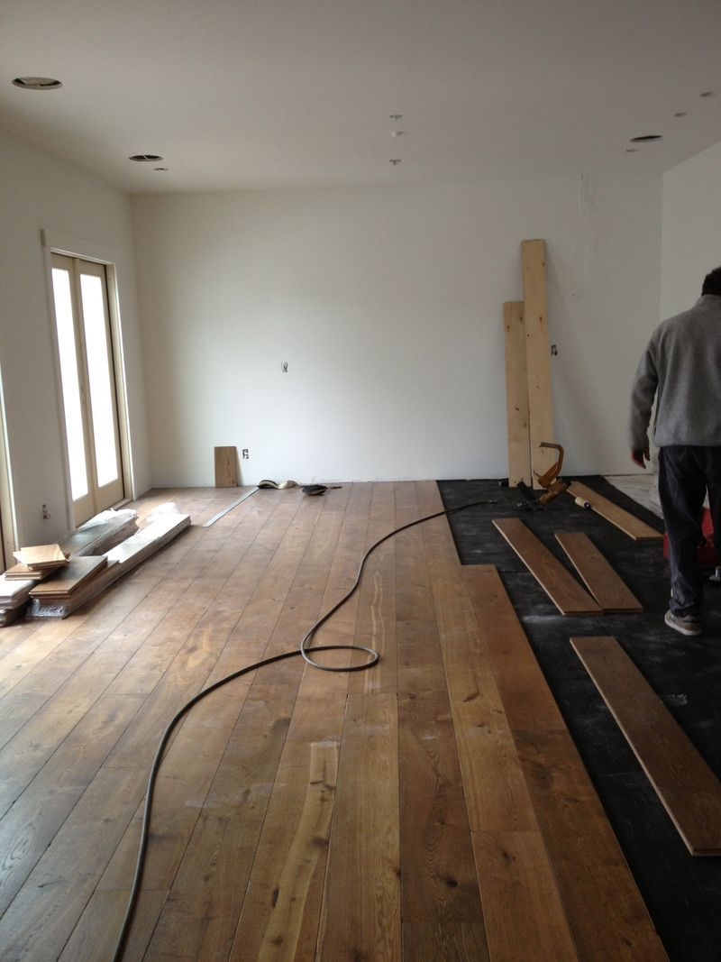 8 Inch Wide Plank Flooring