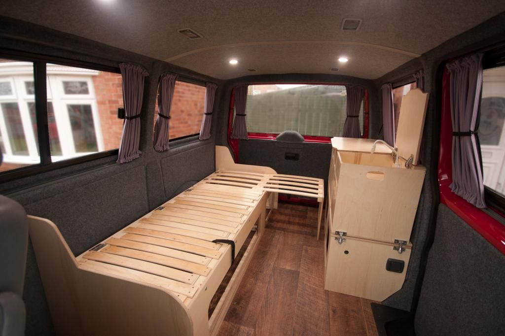 Alternative layout diy build page 3 vw t4 forum vw for Vw t4 interior designs