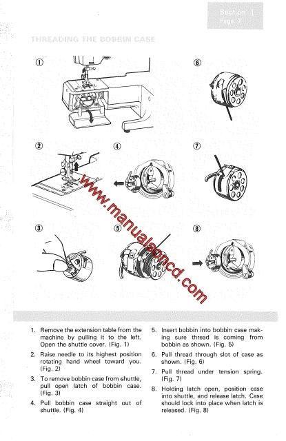 Kenmore 158.12520 Sewing Machine Manual Model 12520