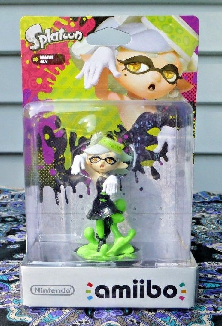 Toys To Life 182180 Marie Amiibo Splatoon Series Nintendo Switch