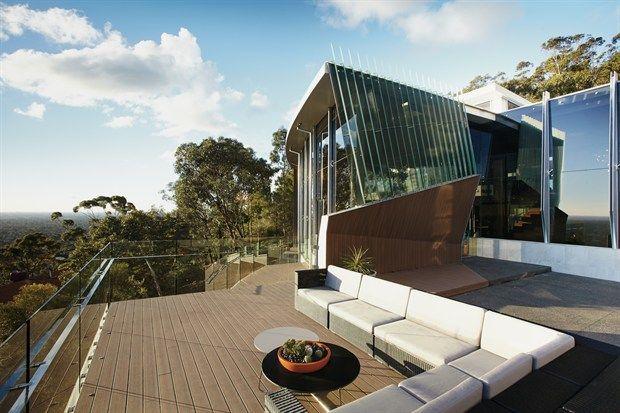 opulent design retractable roof. Grand Designs Adelaide Hills  Torrens Park modern mansion
