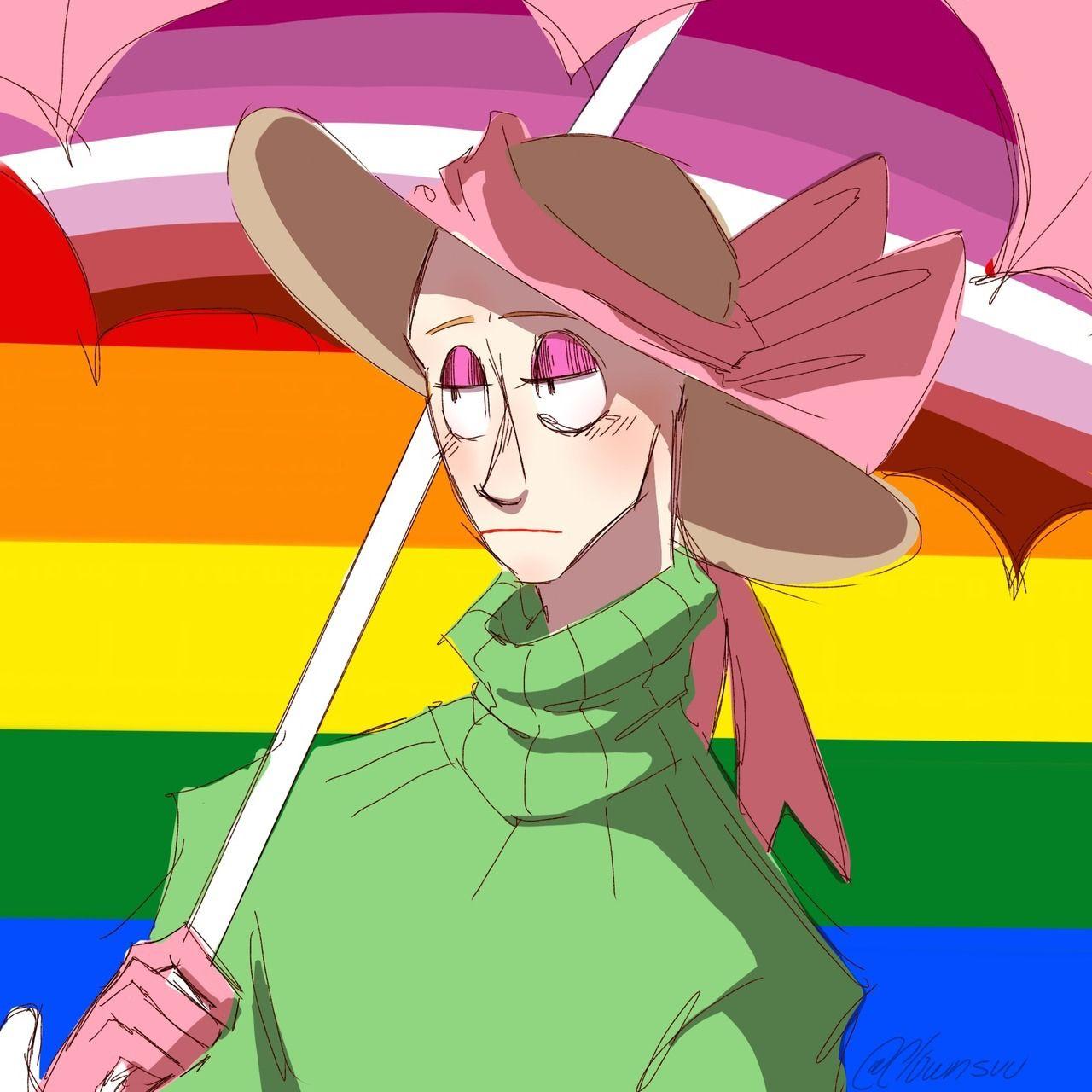 Lesbian Baldi Anime Lesbian Lesbian Pride