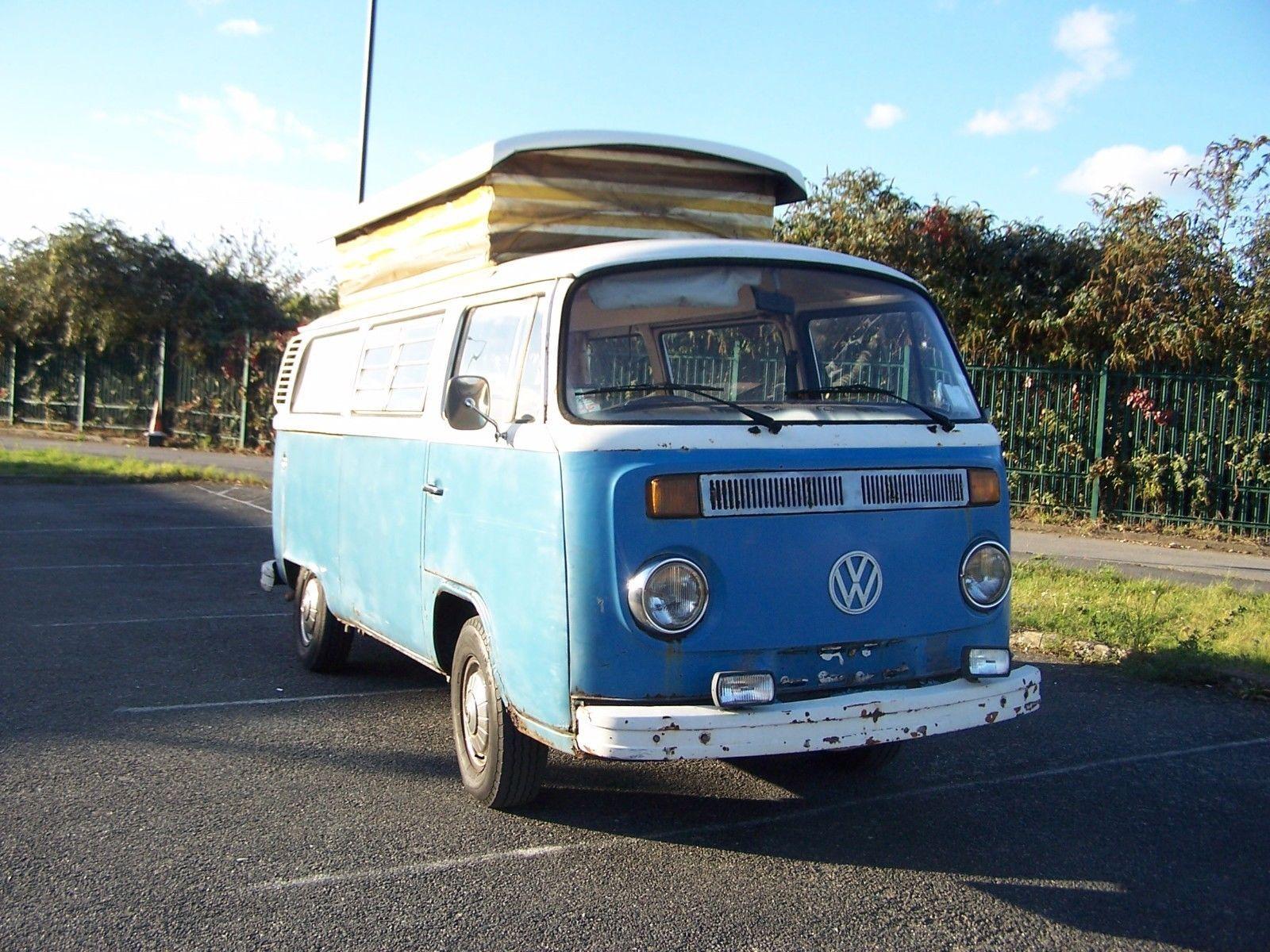 eBay VW Type 2, Devon camper 2000cc Automatic For Sale