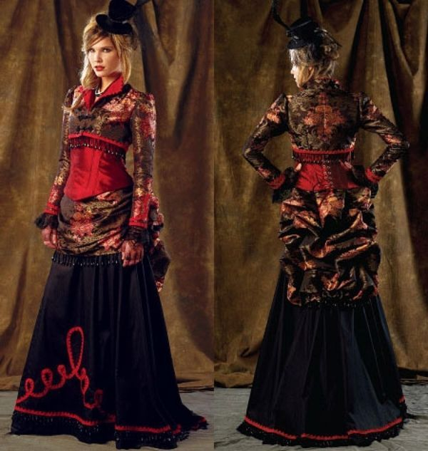 McCall\'s 6911 Sewing Pattern to MAKE Victorian Steampunk Jacket ...