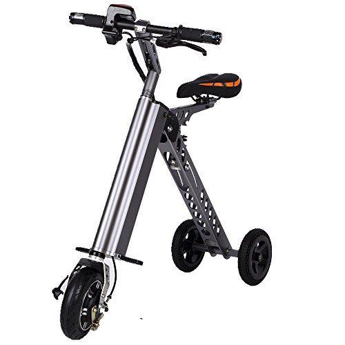 3 Wheel Electric Folding Bike