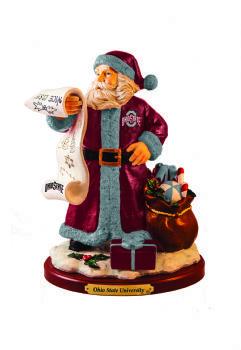 Ohio State 2015 Santa Figurine