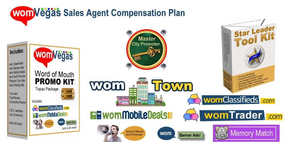 wom Vegas Sales Agent Compensation Plan Just about anything - plan sales
