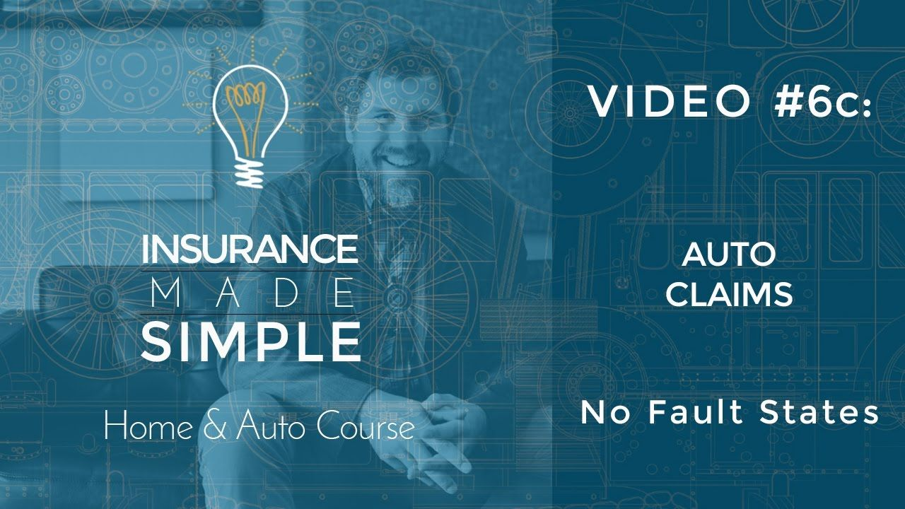 Auto Insurance Claims - No Fault States (With images ...