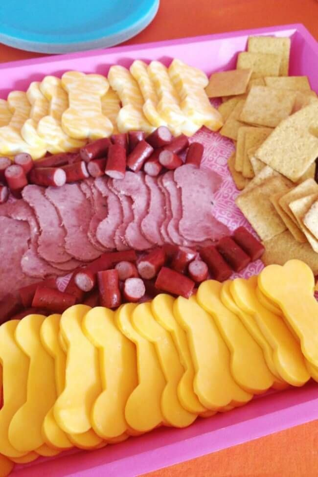 23 PAW Patrol Birthday Party Ideas Meat Cheese and Shapes