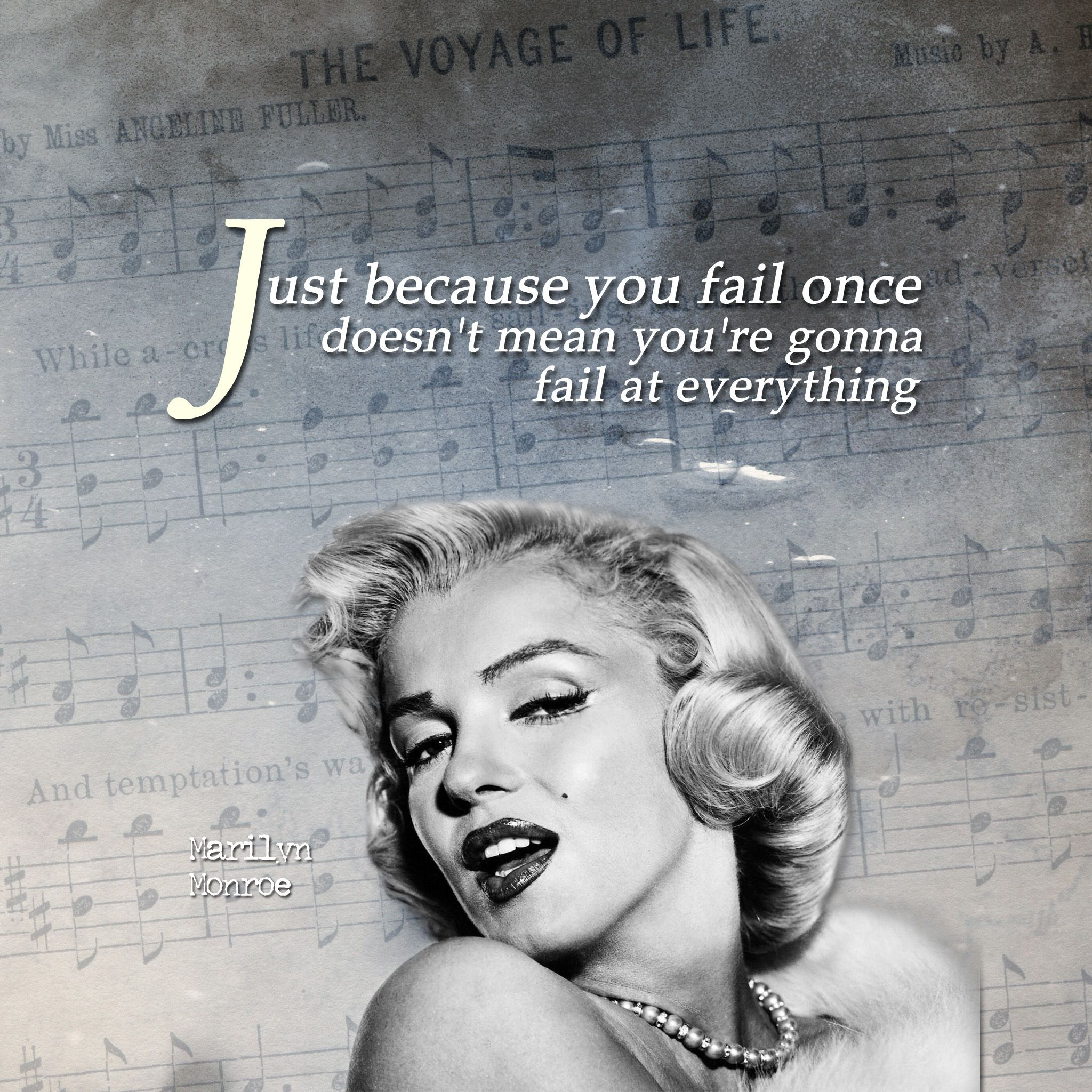Inspirational Ipad Wallpaper Failure By Marilyn Monroe Ipad Wallpaper Marilyn Monroe Quotes Ipad Wallpaper Quotes Marilyn Monroe