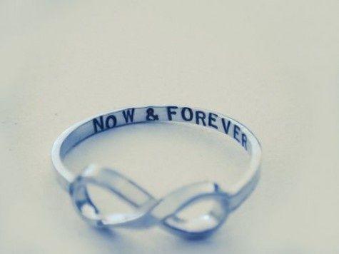 infinity ring.