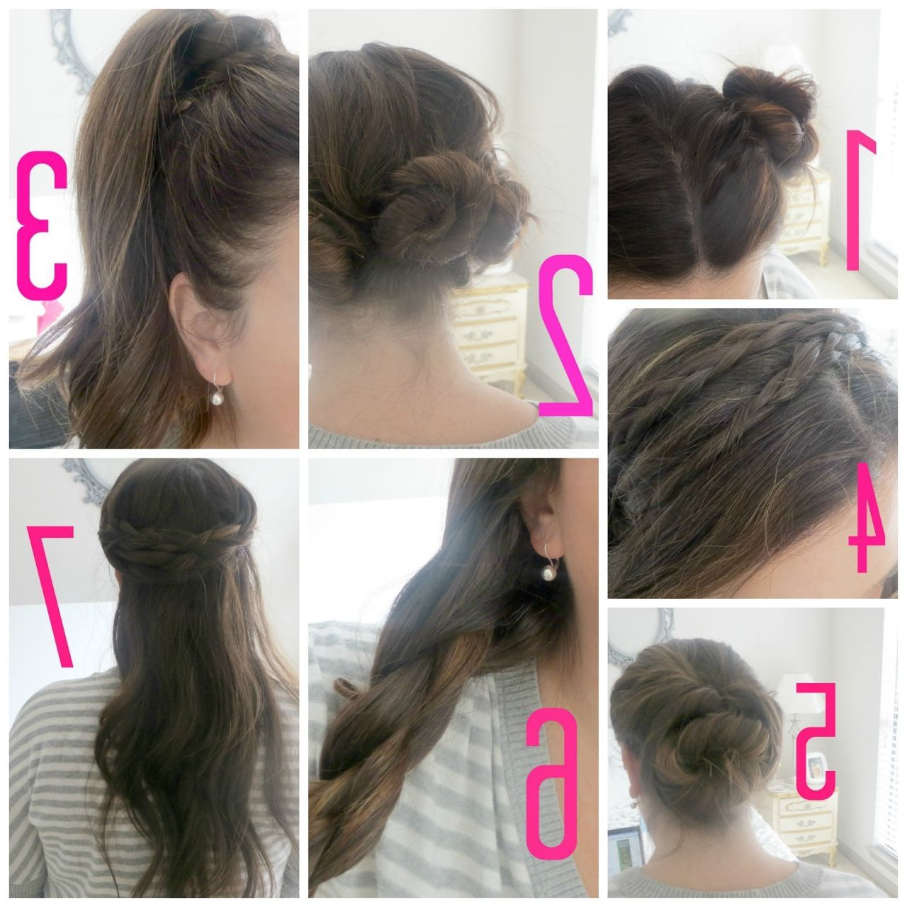 Cool Cute And Easy Long Hairstyles For School Step By