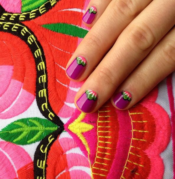 Mexican Nails Crazy Nail Art In 2018 Pinterest Mexican Nails