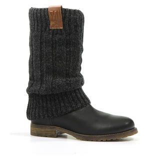 Zwarte Laarzen Monshoe