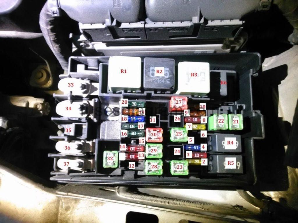 Fuse Box Vw T5 Relay Location