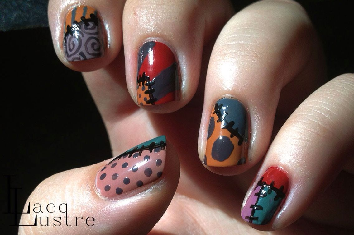 Nails Sally nightmare before Christmas | Nails | Pinterest | Sally