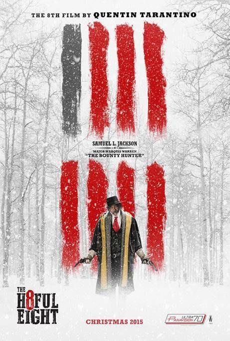 The Hateful Eight (december 2015) Quentin Tarantino movie..cant wait. W/ samuel L Jackson