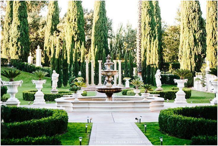 Elegant Mansion Wedding in Beverly Hills Mansion wedding