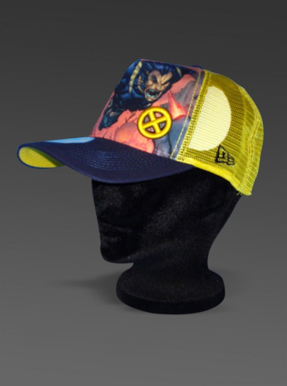 f87418b167d HeroWiz.com - New Era Adjustable Hat ULTIMATE WOLVERINE X-Men Marvel Comics  Trucker