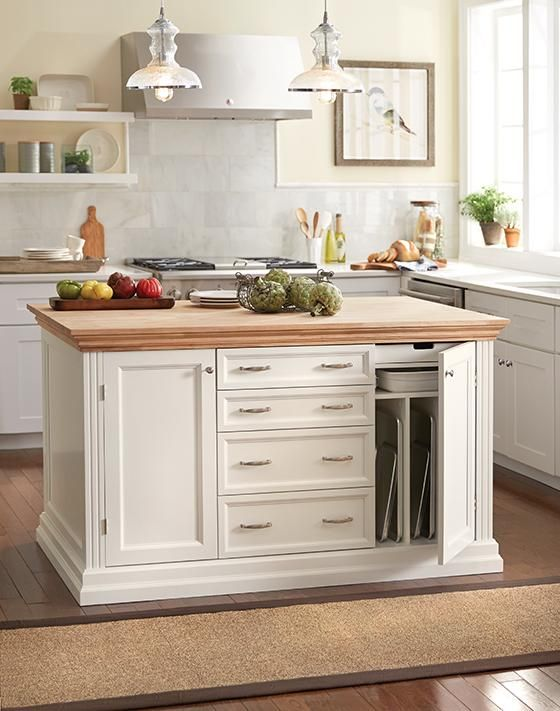 Martha Stewart Living™ Addison Baking Island - Kitchen Islands ...