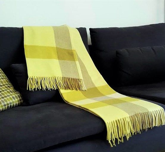 Cashmere Blanket Pure Cashmere Wrap Blanket 40% Cashmere Throw Best Citron Throw Blanket