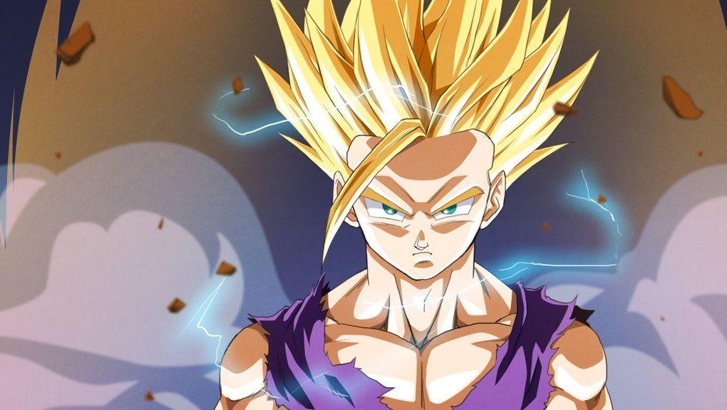 Super Saiyan 2 Gohan Cell Games #DBZ #Anime