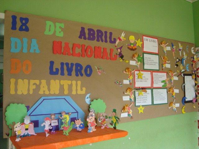 Atividades para O Dia Nacional Do Livro Infantil