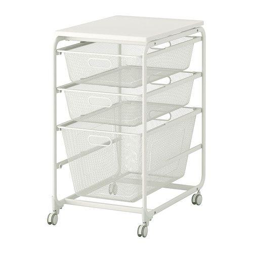 ALGOT Stativ meshbackar topphyllplan hjul IKEA Home Livingroom, Bedroom and Conseratory