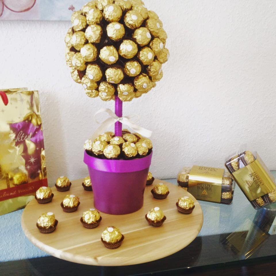 Ferrero Rocher Bouquet Box