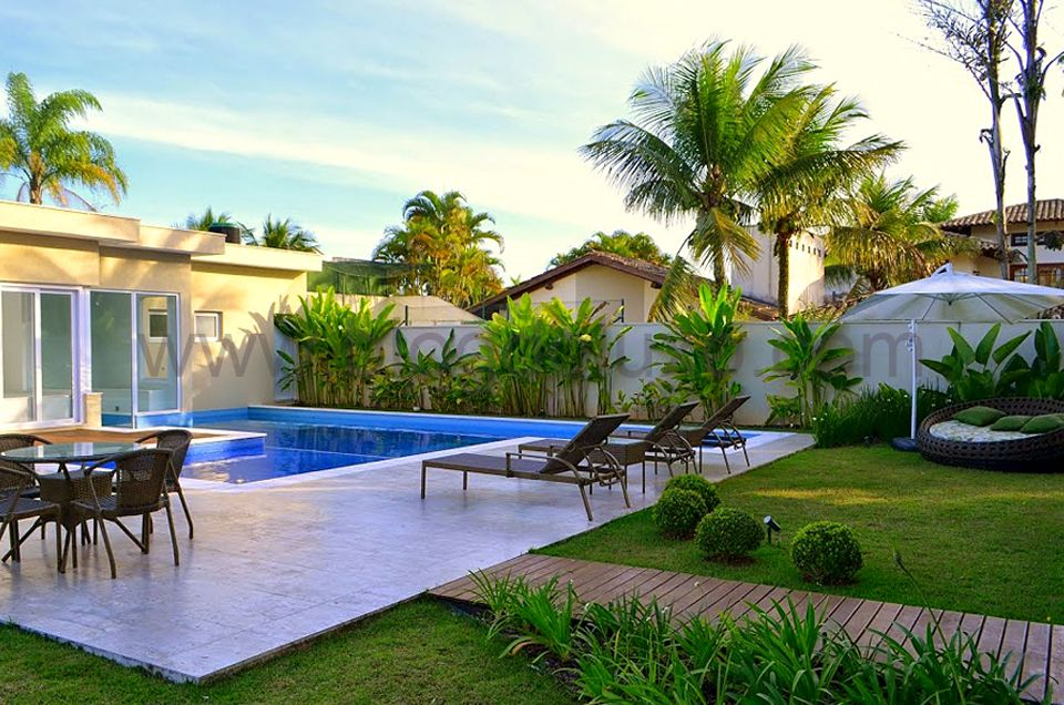 paisagismo para piscina jardins pinterest piscina On paisagismo e jardinagem piscina