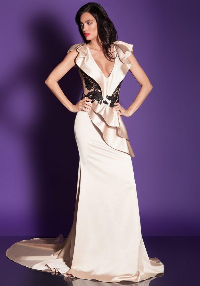 Bonito Vestido De Novia Veromia Ideas Ornamento Elaboración ...